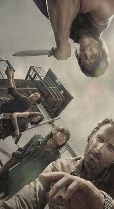 Sick Walking Dead wallpaper