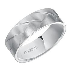 Shop Artcarved Men's Men's Gold Wedding Bands like this White Gold Braided Woven Band at The Ring Austin in Round Rock TX Engagement Ring Photos, Perfect Engagement Ring, White Gold Wedding Bands, Wedding Ring Bands, Wedding Jewelry, Proposal Ring, Love Ring, Jewels, Satin Finish
