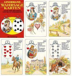 Lenormandkarten von Carta Mundi
