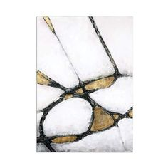 """Uttermost 34352 Abstract In Gold And Black 60"""" x 42"""" Canvas Art Hand ($297) ❤ liked on Polyvore featuring home, home decor, wall art, canvas art, hand painted canvas, wall decor, inspirational home decor, uttermost wall art, gold home decor and uttermost home decor"""