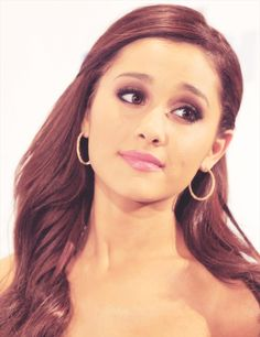 Ariana Grande!! Love the hair style and make-up