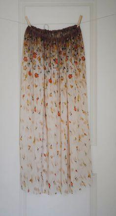 Cotton Gauze Maxi Skirt