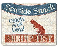 Fresh Seafood Cutting Board | OceanStyles.com