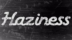 Haziness Free Script Font