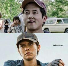 Maggie and Glenn :)