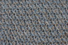 Tunisian Crochet: Tunisian Diagonal Stitch