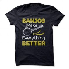 banjo shirt - #custom shirt #sweatshirts for men. BUY NOW => https://www.sunfrog.com/Music/banjo-shirt.html?id=60505