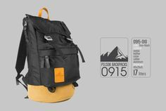 Backpack Pilsok 0915-010 Foxy+Black / Backpack of Cordura and Suede / Black Backpack with Suede Brown Bottom Backpack for daily wearing, hiking, climbing, travel, a full day at school. Very beautiful and comfortable PILSOK backpacks are made with durable fabrics and leather. Unique design, hand-made metal furniture. We use only quality materials and fittings.  The backpack is made of ripstop fabric. Ripstop nylon waterproof and fire resistant fabric.  ‣ Pocket for your laptop or tablet ‣…