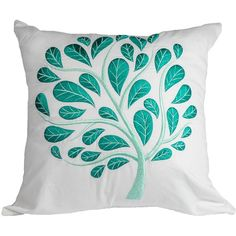 Teal Pillow Cover, Throw Pillow Cover White Linen, Teal Peacock,... ($26) ❤ liked on Polyvore featuring home, home decor, throw pillows, teal home decor, white linen throw pillows, peacock home accessories, teal home accessories and teal accent pillows