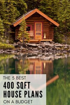 Find your dream home in this list of the best 5 places to get house plans for 400 - 500 sqft. Including tiny houses, log cabins, cottages, and modern small homes. There's variety in style and size (from rustic to modern and tiny to small). Some of these are formatted to have porches, fireplaces, and lofts. Check them out to see beautiful designs for yourself! This list also includes one of the best places to look for floor plans: Etsy.