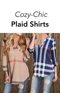 The perfect cozy and comfy plaid shirt that you will never want to take off.