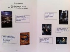 The Award Booklet - details of the Ravenheart Award shortlist Booklet, New Books, Science Fiction, Awards, David, Fantasy, Photos, Sci Fi, Pictures