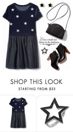 """""""Even a small star shines in the darkness!"""" by shoaleh-nia ❤ liked on Polyvore featuring WALL and Spallanzani"""