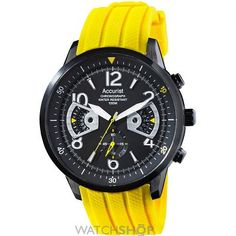 Men's Accurist Acctiv Chronograph Watch