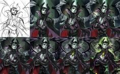 Maleficent Gender Bend http://sakimichan.deviantart.com/