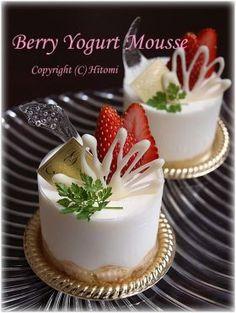 「ベリーヨーグルトムース」hitomi | お菓子・パンのレシピや作り方【corecle*コレクル】