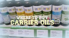 Here's a list of online stores and shops where you can buy carrier oils in the Philippines. Carrier oils are used in essential oil blends, and perfumes. Essential Oil Blends, Essential Oils, Carrier Oils, Castor Oil, Philippines, Perfume, Bottle, Shops, Stuff To Buy