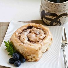 Cinnamon rolls with The Pioneer Woman's recipe.