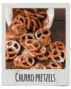 Churro Pretzels | 17 Delicious Snacks To Make This Fall