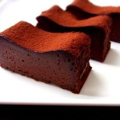 Recipes for Chocolate Desserts Chocolate Slice, Chocolate Sweets, Chocolate Recipes, Sweets Recipes, Easy Desserts, Snack Recipes, Cake Recipes, Sweet Desserts, Don Perignon
