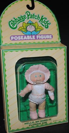 Florrie Kim #vintage #toy #cabbage #patch #kids #Electronic Toys