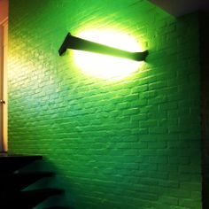 PAWWW black wall #DARK green color concept #project Architect office at Turnhout BE