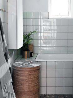 Nyt liv i 60'er-huset | Femina Bathroom Inspo, Bathroom Inspiration, Beautiful Space, Beautiful Homes, 1960s House, Home Reno, Cozy House, Tiles, New Homes
