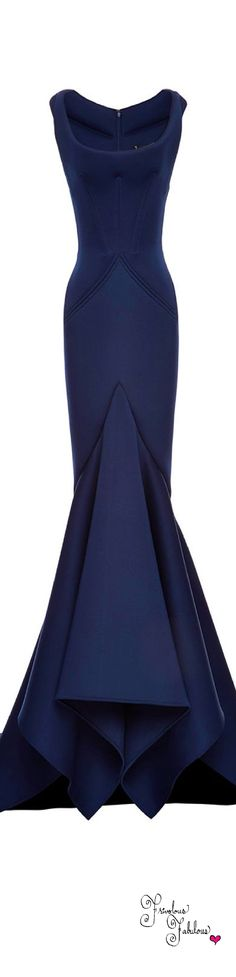 Lilly's Navy Blue Mermaid Gown for the Red Cross Ball in Stubborn Love- Frivolous Fabulous - Zac Posen Pre Fall 2015 Beautiful Gowns, Beautiful Outfits, Elegant Dresses, Pretty Dresses, Evening Dresses, Prom Dresses, Elegant Evening Gowns, Blue Dresses, Formal Dresses