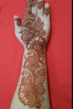 Mehndi Designs Front Hand, Latest Arabic Mehndi Designs, Floral Henna Designs, Latest Bridal Mehndi Designs, Stylish Mehndi Designs, Full Hand Mehndi Designs, Mehndi Designs Book, Mehndi Designs For Girls, Mehndi Designs For Beginners