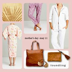 Mother's Day is just around the corner.. & Foundling have it covered! From gorgeous gowns to 9ct solid gold earrings, OUR classic cotton PJs to buttersoft leather totes - there's something for every Mum..delivered to your door! www.foundling.com.au
