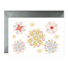 ***Buy a pack of 4 and save: https://www.etsy.com/listing/251326663/christmas-greetings-cards-holiday?ref=shop_home_active_2  Beautiful