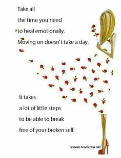 Remember you are not broken ..... you are breaking through☺