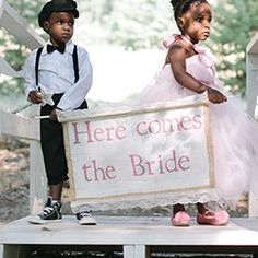 A must see pink farm wedding with the cutest bridal party and the most darling DIY details!