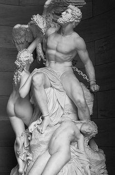 Prometheus Bound and Oceanides. Alte (Old) National Gallery. Berlin