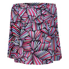 Check out what @lorisgolfshoppe has for your days on and off the golf course! Monterey Club Ladies Geometric Print Swing Pull-on Knit Golf Skorts - Two Colors