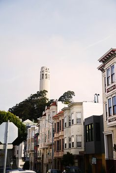 anyamcinroyphotography:    San Francisco, Coit Tower from below, 3/25/13© Anya McInroy