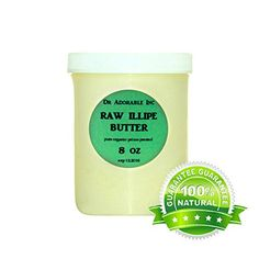 Kokum Butter RAW Organic 100% Pure 8 Oz | Essential-Organic.com | great organic makeup and cosmetics Organic Almond Butter, Kokum Butter, Hair Pomade, Antioxidant Vitamins, Rich In Protein, Organic Makeup, Hair Conditioner, Body Butter, Cocoa Butter