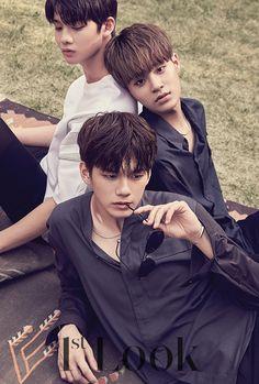 Bae Jinyoung, Lee Daehwi, Ong Seongwoo (Wanna One) - 1st Look Magazine vol. 137