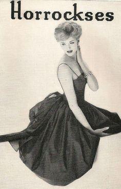 Horrockses Fashions dress advert March 1959