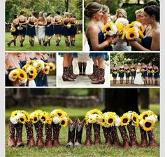 Sunflower wedding, country wedding ;)))