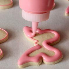 Cookies Decorados, Galletas Cookies, Iced Cookies, Cut Out Cookies, Royal Icing Cookies, Cookie Desserts, Cookies Et Biscuits, Cupcake Cookies, Cookie Recipes