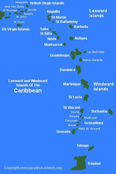 Leeward and Windword Islands of the Caribean  ASPEN CREEK TRAVEL - mailto:karen@aspencreektravel.com
