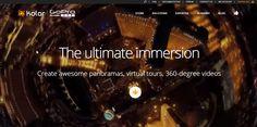 www.kolor.com  Kolor: create panoramas, virtual tours, 360-degree videos ----labsimurb piazza Leonardo da Vinci Virtual Tour: http://www.labsimurb.polimi.it/tour/pLeo/0013.html --- labsimurb Trifoglio: http://www.labsimurb.polimi.it/tour/guidelines/trifoglio/LineeGuida.html