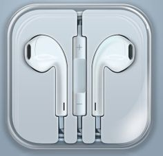 Earpods earphones for iPhone 5 with remote and mic Material:ABS High quality Never hurt ears New Earphone, Apple Mobile Phones, Stereo Headphones, Headset, Remote, Gadgets, Ipad, Iphone, Ears