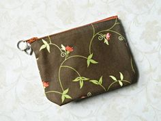 Coin Purse Pouch Cosmetic  READY TO SHIP  Womens  by CyndeesGarden, $8.50
