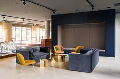 Breakout area and waiting area from Zalando HUB Offices - Berlin - Office Snapshots