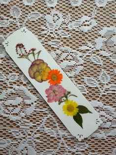 PRESSED FLOWER BOOKMARK Natural Preserved by MyHumbleJumble
