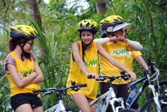 Take rest and the time for make a great picture on Bali cycling at Alam Amazing Adventures