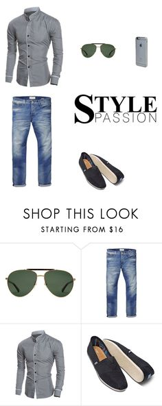 """""""Fashion 2/I"""" by jamack ❤ liked on Polyvore featuring Gucci, Scotch & Soda, TOMS, Incase, men's fashion and menswear"""