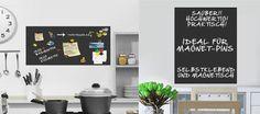 Tafelfolie 300x100 #Tafelfolie-Shop - selbstklebend und magnetisch